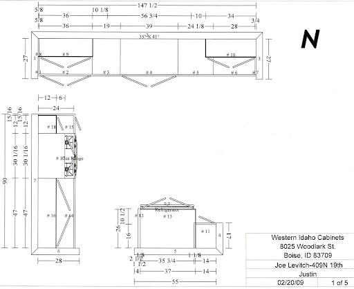 Kitchen Remodel Floor Plan II   Boise Foodie Guild