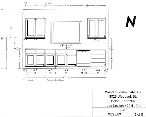 Kitchen remodel floor plan ii boise foodie guild for Kitchen set environment variables