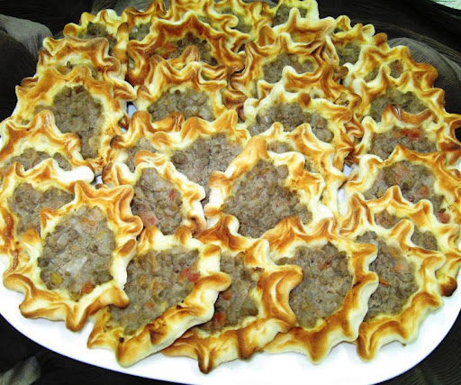 Sfiha Arabian Meat Filled Pastry Boise Foodie Guild