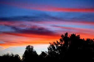 BSU Blue and Orange Sky