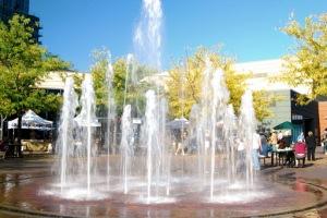 The Grove Fountains, Boise