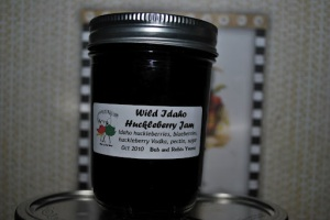 Wild Idaho Huckleberry Jam