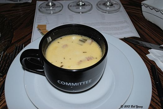 Cream of Idaho Potato and Leek Soup