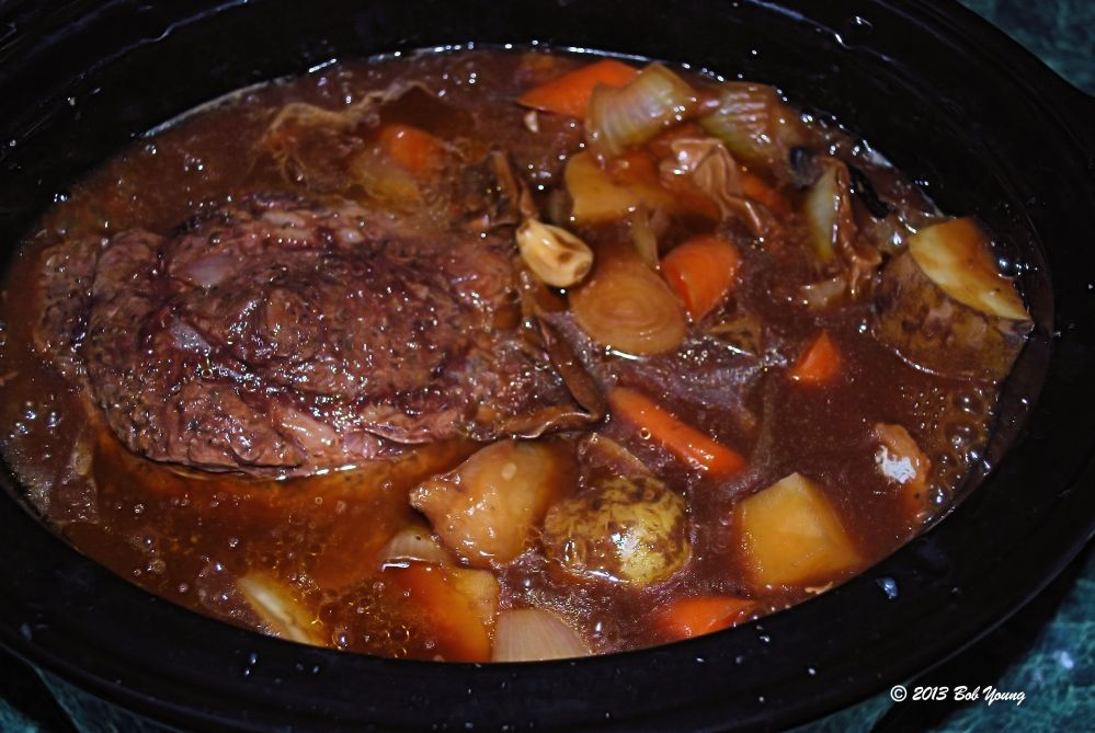 Boise Crockpot Pot Roast (1/2)