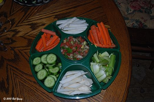 Vegies and Pico de Gallo