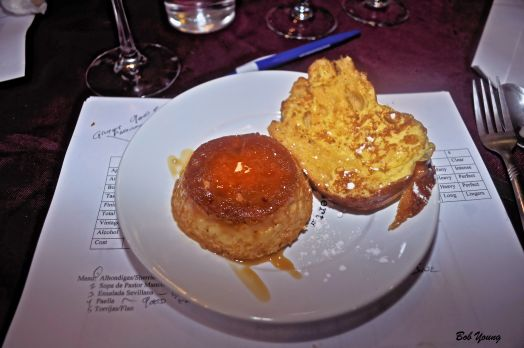 Torrijas and Flan