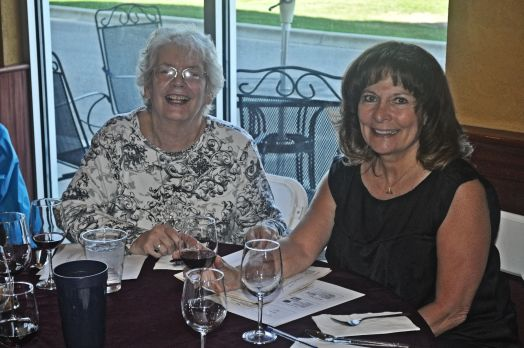 Barb Herrick and Sherry Grabowski