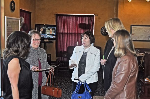 Sherry Grabowski, Connie Merrill, , Diane Ross, Susan Van Houten