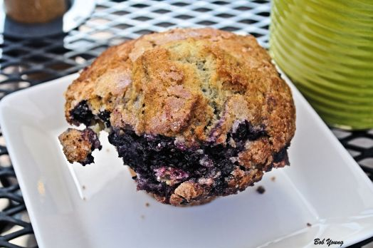 Miss Donna's Blueberry Muffin.