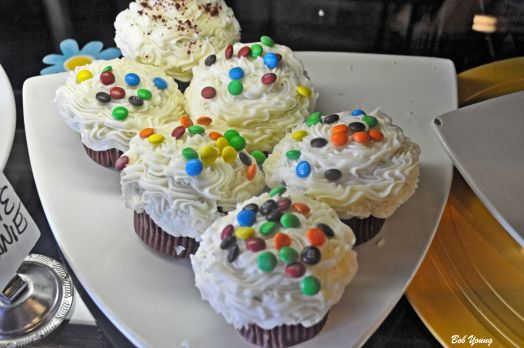 Or how about an M&M Cupcake.