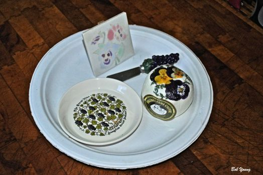 Rollingstone Chevre with Pansy's