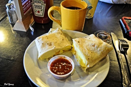 Breakfast Wrap at Wild West