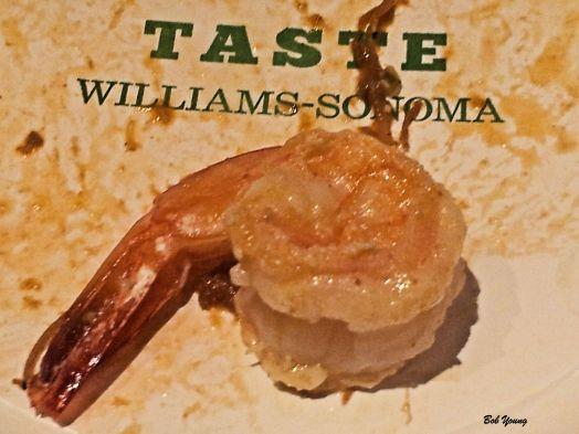 Shrimp plated.