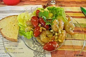 Caribbean Grilled Shrimp Salad 2011 Martin Codax Alborino 12.5% alc. [16] $18.00