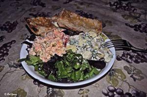 06July2013_1_Captain's-Shack_Summer-Salad-Dinner_Plated