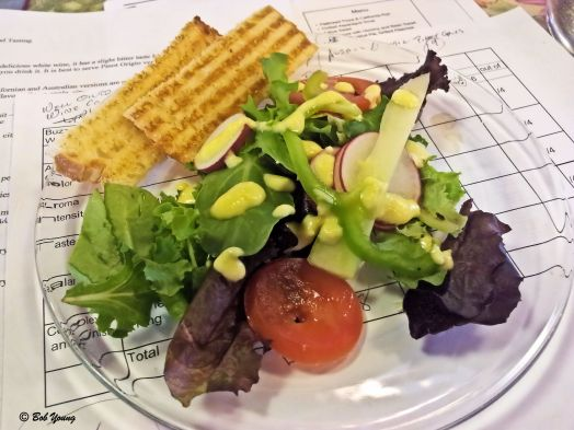 Citrus Salad (This was a great salad. Cristi said she will post the recipe for the dressing. Loved it!)