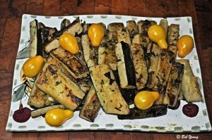 Grilled Herbed Zucchini Strips