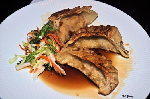 And now .... The food! Pot Stickers