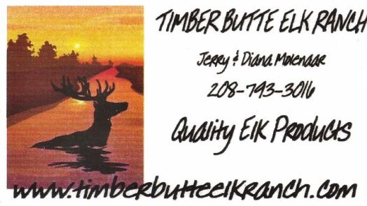 Ever had elk? Lean, very lean. Much like buffalo cooking process. Here is your supplier!
