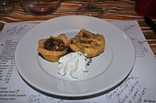 Apple Pie and Pecan Tart 2012 Revelry Riesling [ 15] 2012 At Urbans-Hof Riesling [19]