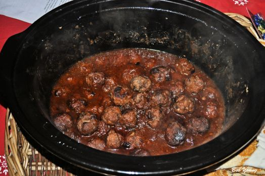 Turkey Meatballs. Here is the recipe: