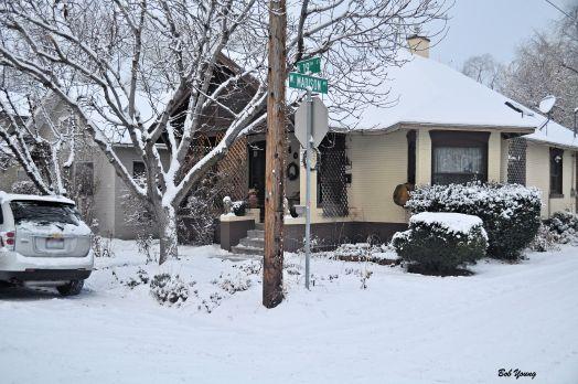 Boise snowfall this morning.