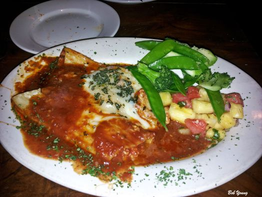 Seafood Manicotti. Super good!