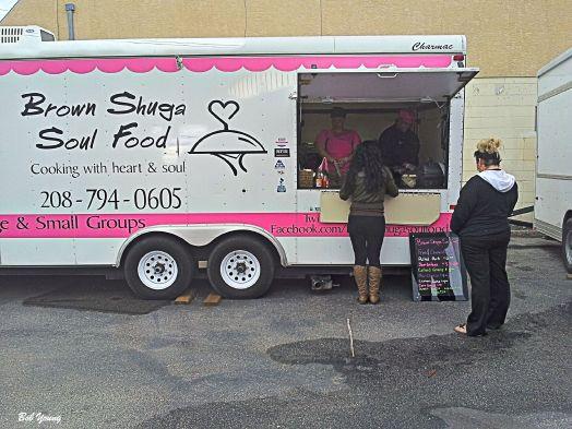 Yvonnes Brown Shuga Soul Food Food Truck