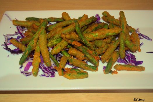 Green Beans Fried A great appetizer!
