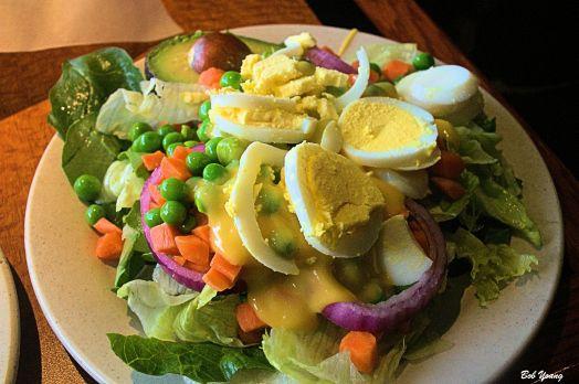Salad Bar choices
