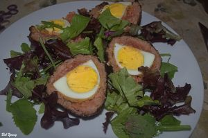 12May2014_1b_Captains-Shack_Scotch-Eggs_Plated_Flash