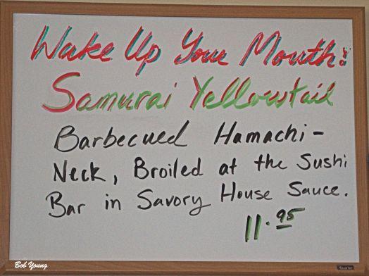 03June2014_1_Sushi-Joy_Menu-Board_Samurai-Yellowtail
