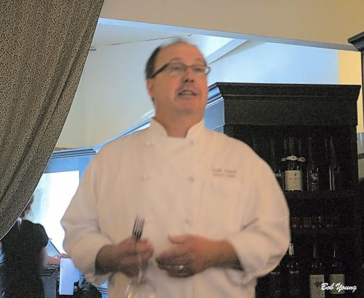 James Beard Award Nominee and  super Chef, Chef Richard Langston, our Host.