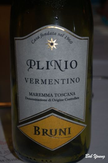 Bruni Plinio Vermentino A good Tuscan from the west central coast.