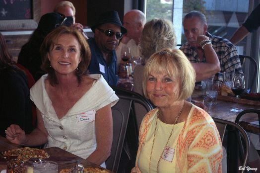 Claire Fenton, Organizer of the Meet-Up group, and Bev Fraser of Fraser Winery in Boise.