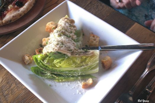 "They list this as a Classic Caesar 10.25 Artisan Romaine, Fresh Parmesan, Focaccia Croutons but without anchovy it is not the classic version. Calling this a Classic Caesar Salad is like calling a Reuben Sandwich with Thousand Island a ""classic"" Reuben. It is not!"