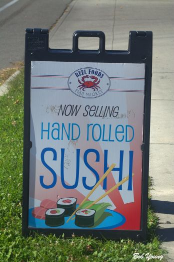 They now offer Sushi. too. This is not the raw one.