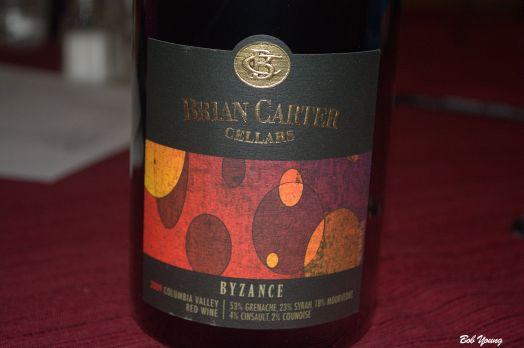 Brian Carter Byzance a blend of