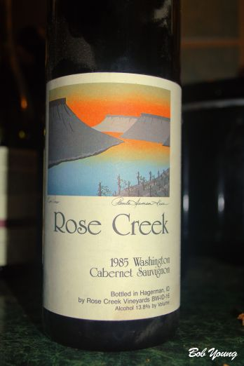 A perfect wine! Great job Jamie Martin, winemaker, now at Cold Springs Winery in Hammett, Idaho