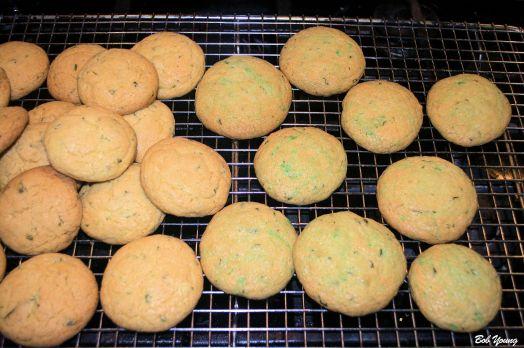 Basil Lime Cookies