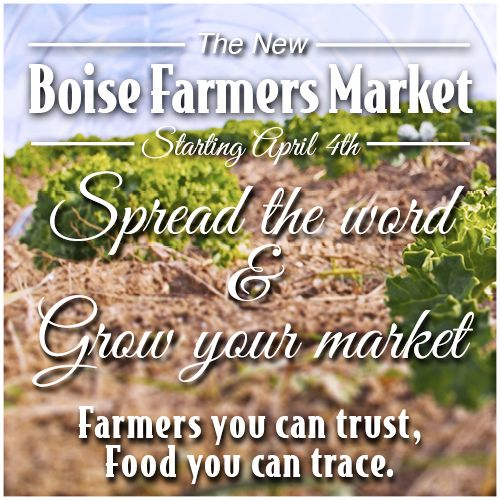 Boise Farmer Market Newsletter.