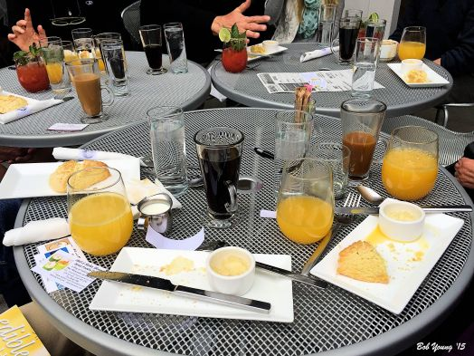 Scones and Mimosas