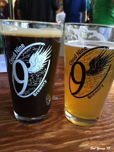 (L) Stout and (R) Heather Ale