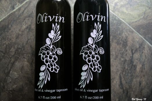 We bought a bottle of olive oil and of balsamic.