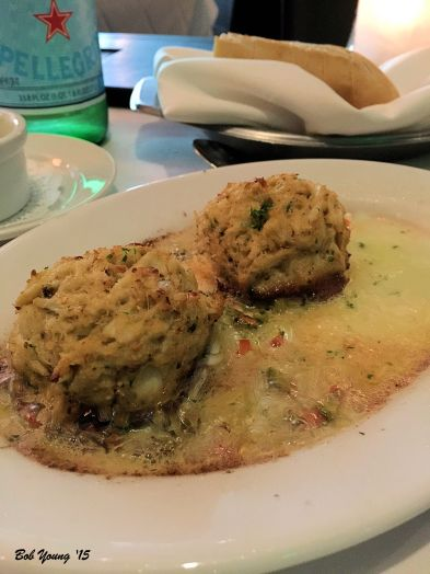 Good Blue Crab cakes, but I think these are over priced.