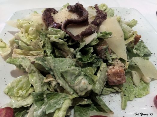 Superb Caesar Salad with Tellicherry Pepper.