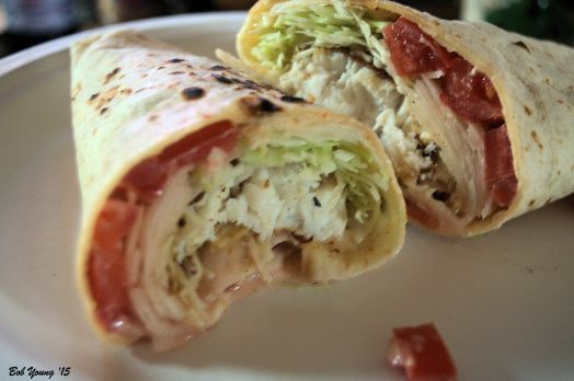 Tilapia Fish Burrito