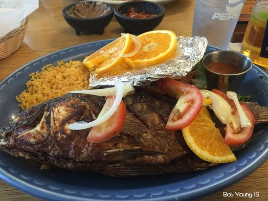 "I had this spot on, out of this world, shut the front door Mojarra Doreda - Tilapia! I'd drive the 12 or so miles from Boise and fight the I-84 construction - or find a ""country route"" - just for this entree! Absolutely loved it."