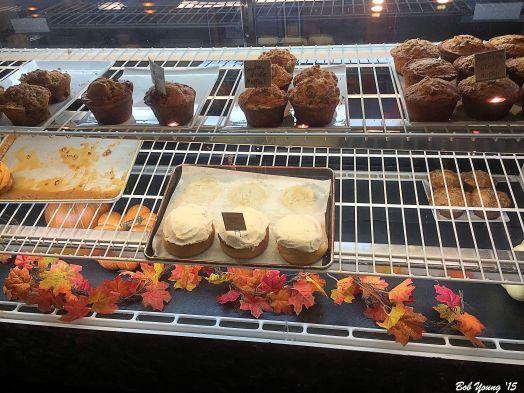 Pastry case.