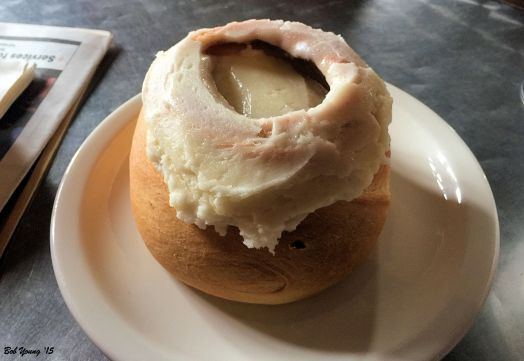 Frosted Cinnamon Roll
